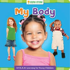 Grow With Steam Board Book - My Body